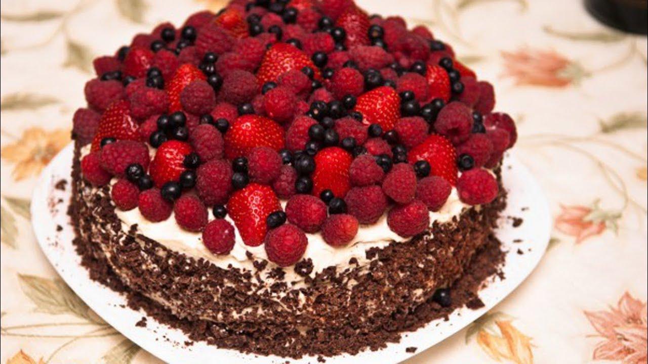 Украшение тортов фруктами в домашних условиях: идеи, фото ...
