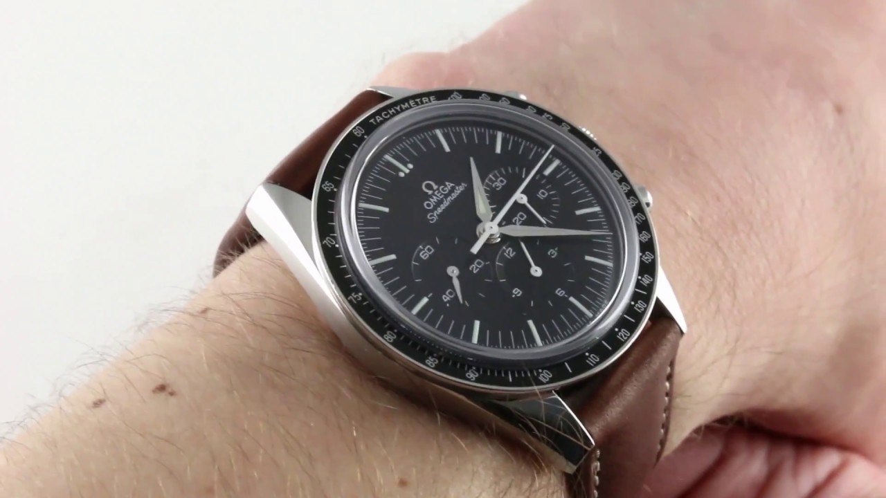 Omega Speedmaster Moonwatch Chronograph First Omega In Space