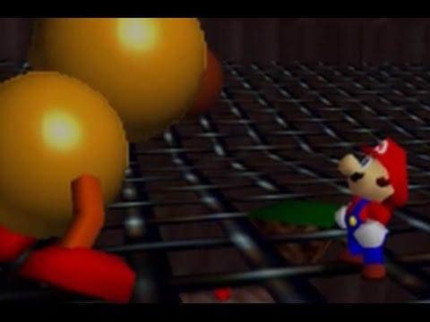Super Mario 64 (Wii U) - Course 13 - Tiny-Huge Island