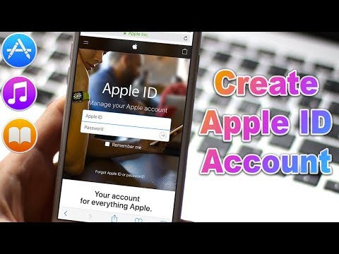 *NEW 2018* How to Create an Apple ID (without Credit Card) use in the App Store, iTunes Store