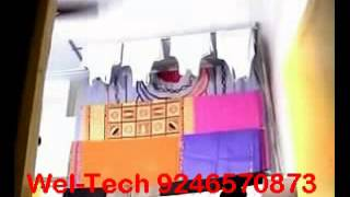 Wel-tech Cloth Drying Ceiling Hanger