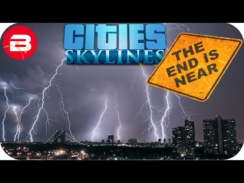 Cities Skylines Gameplay: DOUBLE DISASTER WHAMMY!!! (Cities: Skylines Natural Disasters Scenario) #7