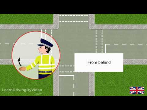 [learndrivingbyvideo.com] - Signals by authorised persons all in UK