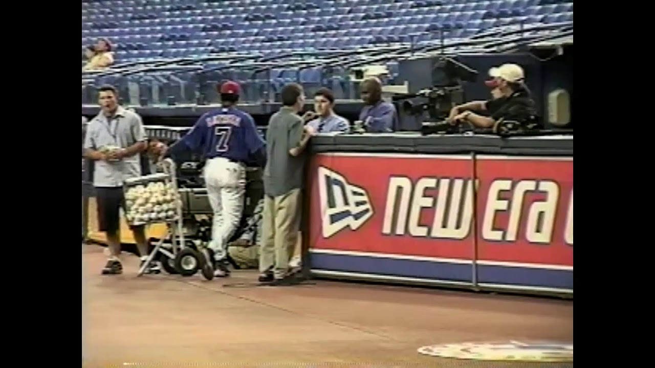 Expos - Diamondbacks Rough Footage  8-10-04