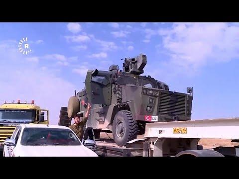 شاهد: قوات سوريا الديمقراطية تعرض مدرعة تركية بعد -الاستيلاء عليها-…  - نشر قبل 4 ساعة