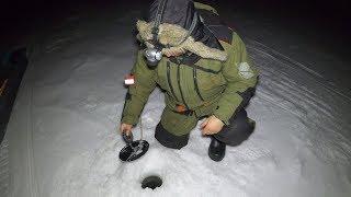 ЗИМНЯЯ НОЧНАЯ РЫБАЛКА WINTER NIGHT FISHING