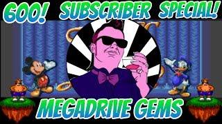 Retro MegaDrive Games Live Stream Binge! (600 Subs Special)