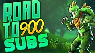 New Fortnite Playing With Subs Free V Bucks Giveaway Hit 500