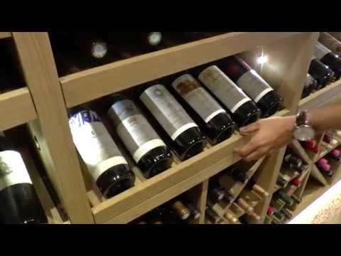Perroud presents the wine cellar at the 3 Michelin star La Vague d'Or at the French Riviera