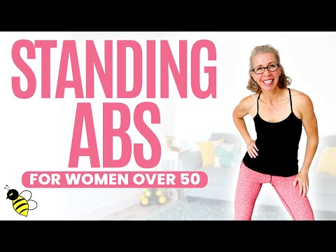 30 Minute LOW IMPACT Cardio Standing ABS Workout for Women over 50 ⚡️ Pahla B Fitness from YouTube · Duration:  28 minutes 46 seconds