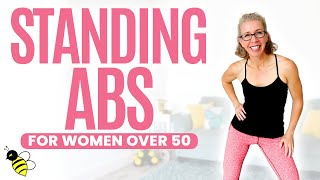 20 Minute STANDING ABS Workout for Women over 50 ⚡️ Pahla B Fitness