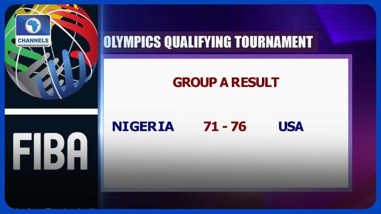 Download USA Beat Nigeria 76-71