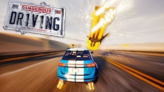 Dangerous Driving Review - New Burnout Game!