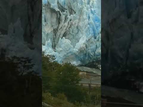 El glaciar Perito Moreno rompió el sábado a la noche, en soledad