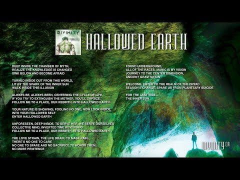 DIVINITY - The Immortalist - Hallowed Earth [Lyrics & Artwork]