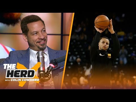 Chris Broussard on LeBron playing PG, Steph Curry's return & Clippers free agency | NBA | THE HERD