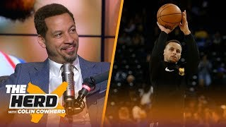 Chris Broussard on LeBron playing PG, Steph Curry