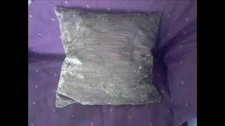 Φτιάξτε διακοσμητικό μαξιλάρι με κρυφό φερμουάρ