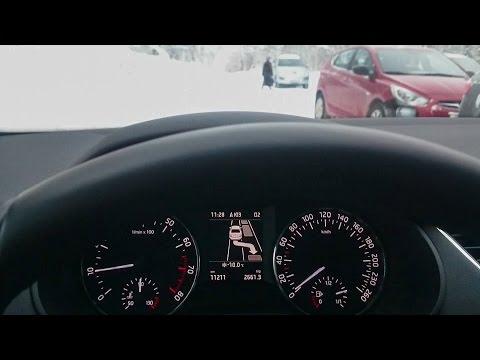 Проверяем ассистент парковки Skoda Octavia A7. Park Assist.