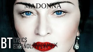 Madonna - Crazy (Lyrics + Español) Audio Official