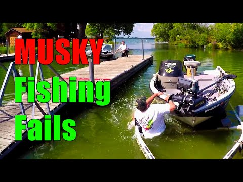 Musky Fishing Fails and Other Hijinks and Tom Foolery