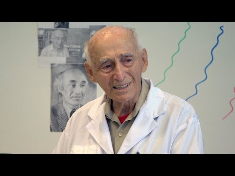 100-year-old doctor is still working