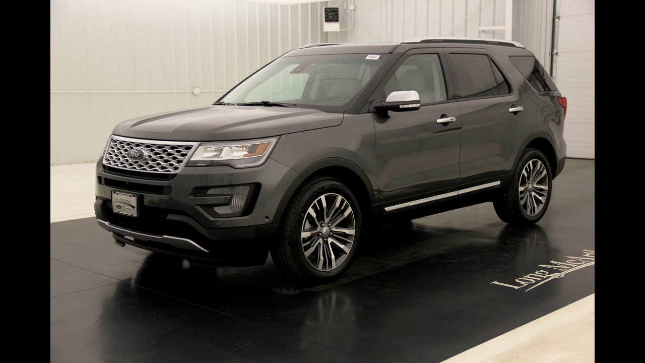 Long Mcarthur Ford >> 2016 Ford Explorer Platinum: Standard Equipment ...