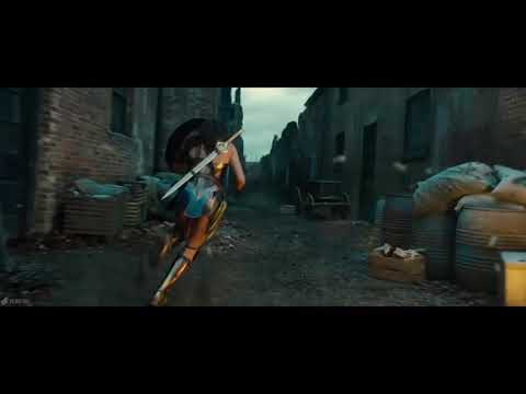Wonder woman scene 2017 movie