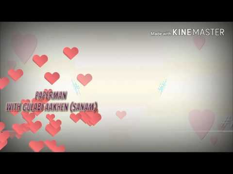 Gulabi Aankhen(Sanam) with Paperman Video...
