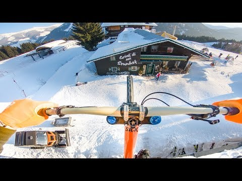 50ft Rooftop Gap On Snow - Behind the Scenes of Fabiolous Escape 2