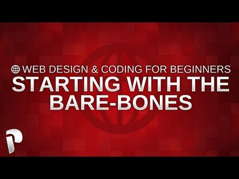 Web Design & Coding for Beginners – Creating the bare-bones of your website #001 @PaNiiKzZ