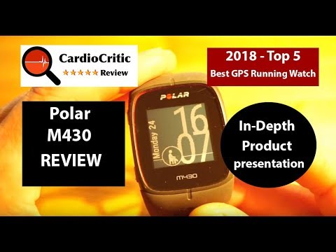 Polar M430 Review 2018  Garmin Vivoactive, Fitbit Ionic, Apple Watch  alternative GPS sports watch
