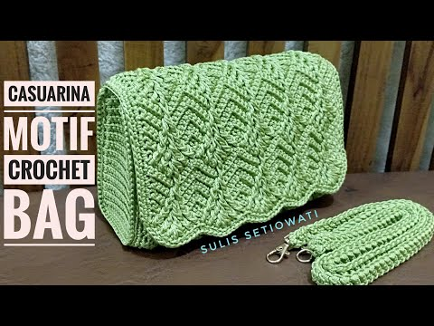 Crochet || casuarina crochet bag