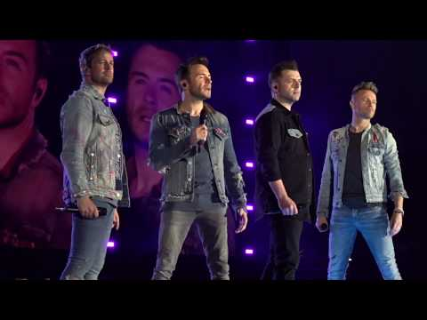 "Westlife ""Dynamite"" 6.7.2019 The Twenty Tour Croke Park, Dublin"