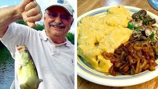 Fishing For Fillets In Cheese Sauce