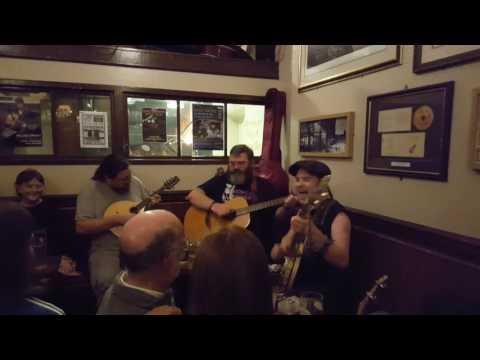 Scottish Folk Music at The Royal Oak in Edinburgh, Scotland