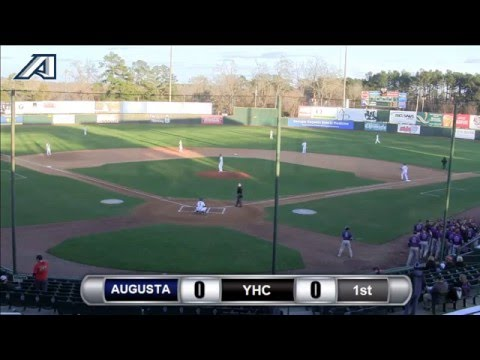 Baseball: Augusta vs. Young Harris College (Game 1)