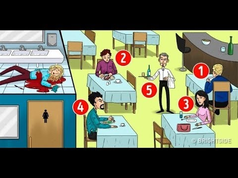 can you find out who is the killer ?Only the Smartest 5% Can Solve