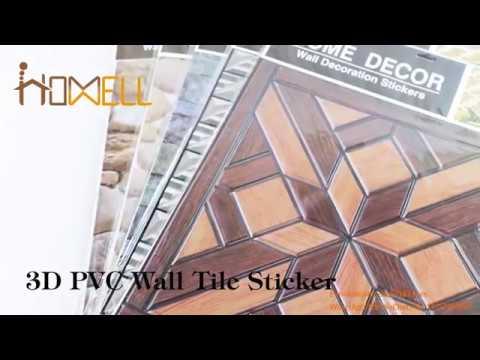 3d wood wall tile sticker,3d wooden wall sticker,wood furniture sticker,wood sticker for cabinets