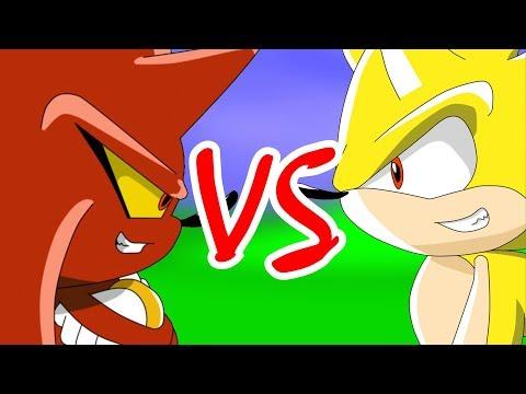 Perfect Nazo VS Super Sonic (by Neira)