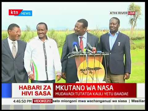 Issues discussed by NASA Co-principals in Athi River