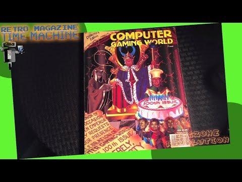 COMPUTER GAMING WORLD 1992 | Retro Magazine Time Machine | Eggzone Revolution