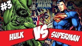 [Central HQs] Crossovers: Superman Vs Hulk (Parte 3) - Resultado Final