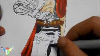 Copic speed draw Edward Elric エドワード・エルリック