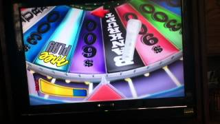 Me Playing Wheel of fortune for the Nintendo Wii