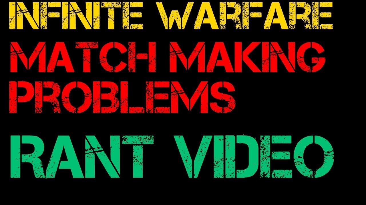 infinite warfare matchmaking bad