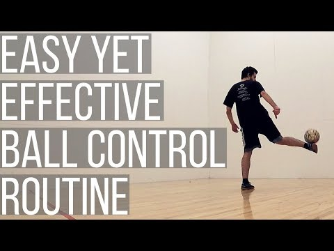 Easy Soccer Ball Control Drills For One Person