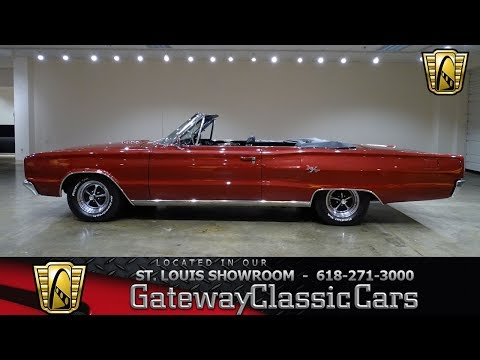 #7748 1967 Dodge Coronet R/T Convertible Gateway Classic Cars St. Louis