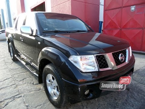 venda nissan frontier 2008 autom tica youtube. Black Bedroom Furniture Sets. Home Design Ideas