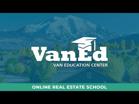 VanEd Real Estate School | Pre-Licensing, CE, & Exam Prep
